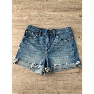 Madewell • High Rise Shorts